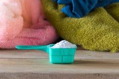 洗涤剂或洗衣粉 免版税库存照片