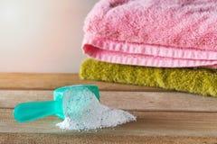 洗涤剂或洗衣粉 库存图片