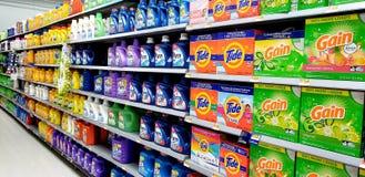 洗涤剂显示 免版税库存照片