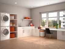 洗涤和清洗的设计室 图库摄影