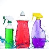 洗涤的工具 免版税库存照片