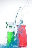 洗涤的工具 图库摄影