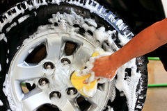 洗涤轮子 图库摄影