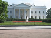 洗涤DC的白色房子 免版税库存照片