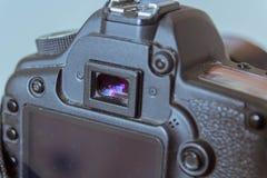 洗眼杯失去的照相机有些模型  库存图片