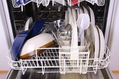 洗碗机 免版税库存图片