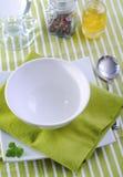 洗碗盘行为 免版税库存图片