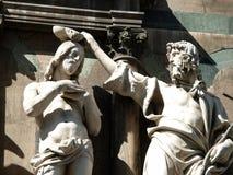 洗礼池佛罗伦萨 免版税图库摄影