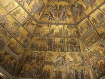 洗礼池佛罗伦萨 库存图片