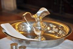 洗礼设备 免版税图库摄影