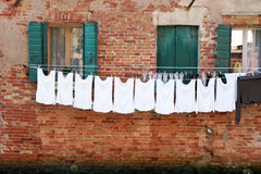 洗衣店威尼斯 图库摄影
