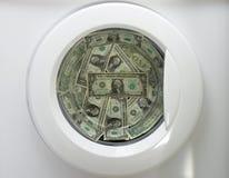洗衣店货币 免版税图库摄影