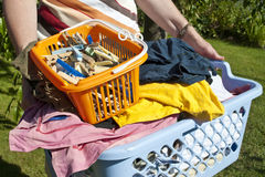洗衣店 库存图片