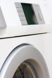 洗衣机白色 图库摄影
