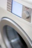 洗衣机白色 库存照片