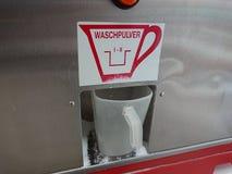 洗衣粉分配器 免版税库存图片