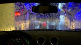 洗车 影视素材