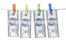 洗钱的概念 库存图片