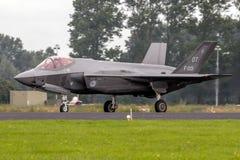 洛克希德马丁F-35闪电III喷气式歼击机 库存图片