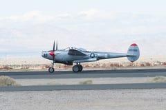 洛克希德P-38闪电 免版税图库摄影