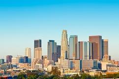 洛杉矶地平线 免版税图库摄影