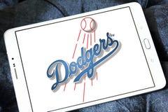洛杉矶道奇棒球队商标 免版税图库摄影