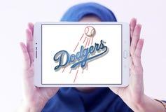 洛杉矶道奇棒球队商标 图库摄影