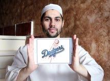 洛杉矶道奇棒球队商标 库存图片