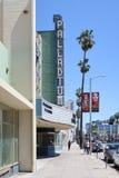 洛杉矶,加利福尼亚,美国04 01 2017年好莱坞钯thea 免版税库存图片