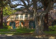 洛杉矶,美国,迷人的贝弗莉山庄豪宅 免版税图库摄影