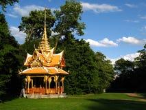 洛桑亭子泰国的瑞士 免版税库存图片
