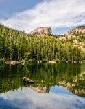 洛矶山国家公园的科罗拉多Bear湖 库存照片
