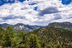洛矶山国家公园,科罗拉多山风景 野生生物保护区在美国 免版税库存图片