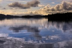 洛蒙德湖在苏格兰 库存图片