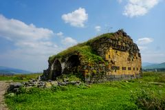 洛里Berd堡垒被放弃的教会 库存图片