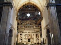 洛雷托省圣洁议院的圣所的大教堂Ita的 库存照片