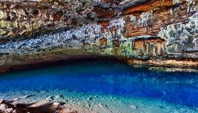 洞湿考艾岛的waikapalae 库存图片