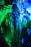 洞石灰岩地区常见的地形 免版税库存照片