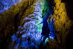 洞穴瓷桂林 免版税图库摄影
