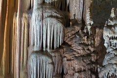 洞钟乳石 库存照片