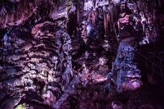 洞Ledenika,保加利亚 图库摄影