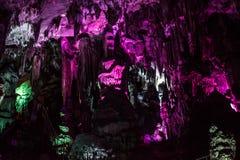 洞Ledenika,保加利亚 免版税库存图片