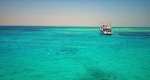 洪加达的红海 库存照片
