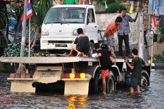 洪水泰国 库存图片