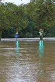 洪水费城 库存照片