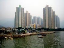 洪海岛kong lantau 免版税库存照片