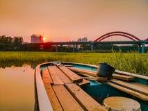 洪湖风景 免版税库存图片