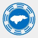 洪都拉斯平的邮票 皇族释放例证