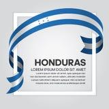 洪都拉斯旗子背景 向量例证