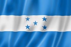 洪都拉斯旗子 皇族释放例证